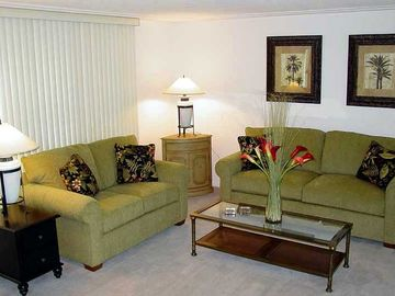 Elegant and comfortable furnishings throughout.