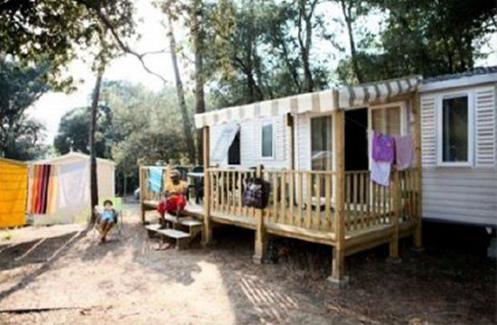 Camping Signol **** - Mobile home Family 4 Rooms 6/8 Persons