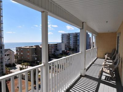 Crescent Beach villa rental - View the ocean from the balcony! Enjoy the sun & relax!!!!!!