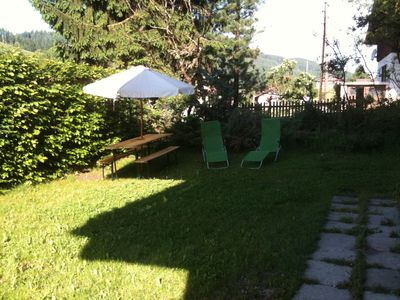 Leogang apartment rental - Chalet Garden Summer