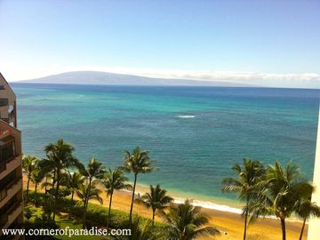 Kahana condo rental - View from Lanai
