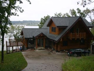 rathbun area log home spectacular lake homeaway moravia
