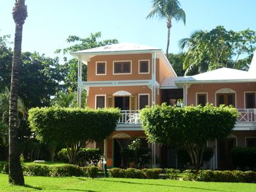Las Terrenas condo rental - Front View (2 story second floor spacious condo)