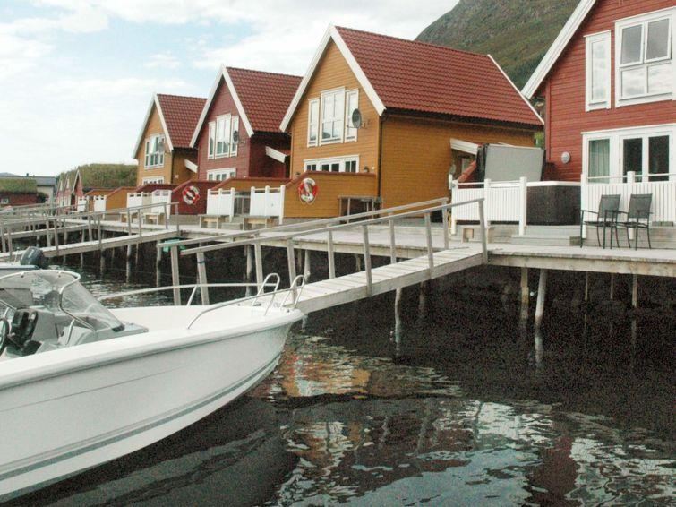 Vacation home Haugsbygda  in Gursken, Northern Fjord Norway - 6 persons, 4 bedrooms