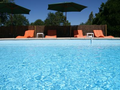 Ligueil villa rental - Private Pool : 9M x 4M with security alarm