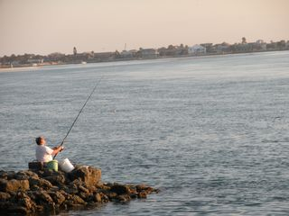 Many Fishing Opportunities Available - Crescent Beach condo vacation rental photo