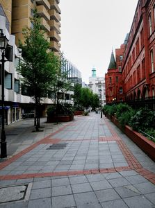 Leather Lane leading to Holborn