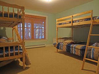 Bridgton house photo - Double bunkbeds