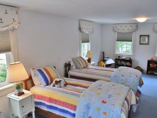 Edgartown house photo - Bedroom #3 - Two Twin Beds. Second Floor