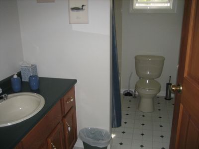 Two *full* bathrooms -- clean as a whistle -- both wilh shower / tubs