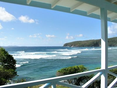 Breathtaking views of Mustique and Park Bay