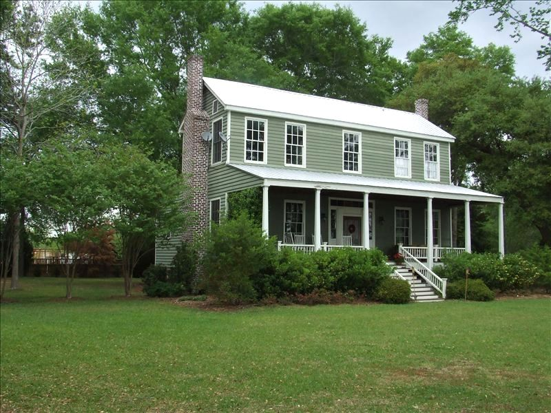 Historic Family Compound On Toogoodoo River Near Charleston 4 Br Vacation Farmhouse For Rent In