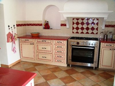Fayence villa rental - Kitchen