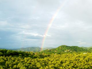 Playa Flamingo villa photo - Beautiful rainbow over the hills