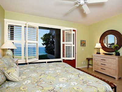 Unobstructed views of the ocean