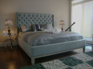 Toronto condo photo - Master Bedroom extra spacious with Flat Screen 46 & KING BED