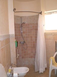 first floor bathroom walk in shower