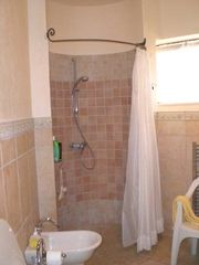 Gerace villa photo - first floor bathroom walk in shower