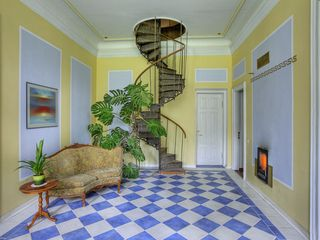 Staircase from foyer to the Baroness`Room - Estonia villa vacation rental photo