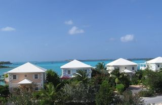 Great Exuma villa photo - Second floor view of Elizabeth Harbor from the front of villa.