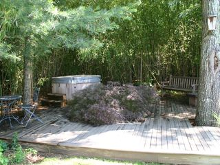 East Hampton house photo - Hot tub