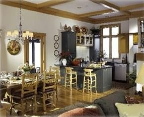 Dining Room and Gourmet Kitchen with top of the line appliances