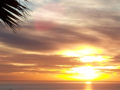 Benahavis apartment rental - Sunrise from terrace