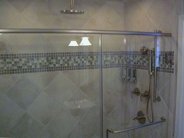 Master Spa-like shower ! Aahhh!