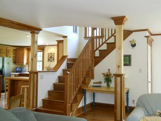 Jay Peak house photo - Very open floor plan.