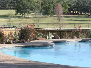 Whitesboro lodge photo - Our pool also offers a cabana with a grill