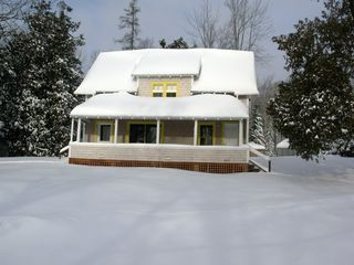Lamoine cottage photo - The Cottage in winter snow!