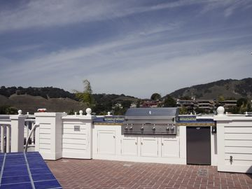 Roof Deck view (to the rear) of the surrounding hills and golf course.