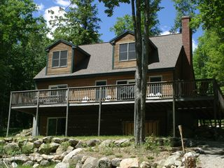 Bridgton lodge photo - Lake Side View