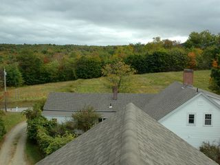 Gilford house photo - View from the Cupola looking towards the street.