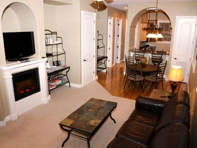 Branson condo rental - LCD TV's - Cable TV - Nintendo Wii - Fireplace