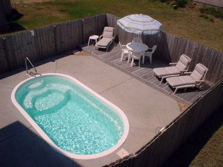 Kitty Hawk house photo - Your own private pool.