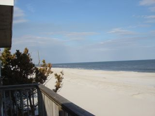 Brant Beach house photo - Awesome view to the north! Taken March 15, 2013 - after Sandy. LOTS of BEACH!