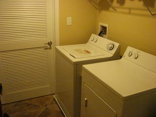 Oceans Mist Ocean City condo photo - Large Laundry Room with full sized Washer and Dryer