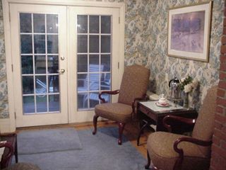 sitting room adjacent to kitchen - Stowe house vacation rental photo