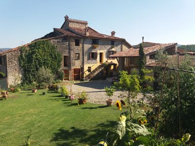 ROOMS IN COUNTRY HOUSE SURROUNDED BY NATURE OF SILENT HILLS PIACENTINI