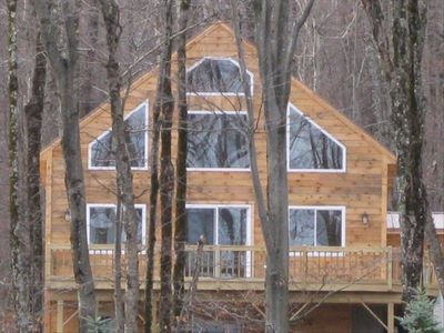New home in Jay Peak, one mile to Jay Peak Resort and two miles to Jay Village.