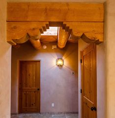 Santa Fe house photo - Beautiful ceilings
