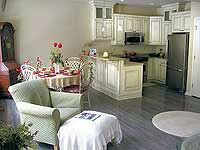 Big Boulder townhome photo - Living Room Open to Kitchen.