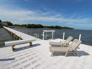 Big Pine Key house photo - VIEW OF THE DOCK