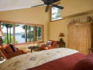 Cashiers house photo - Master Suite with Long Lake View
