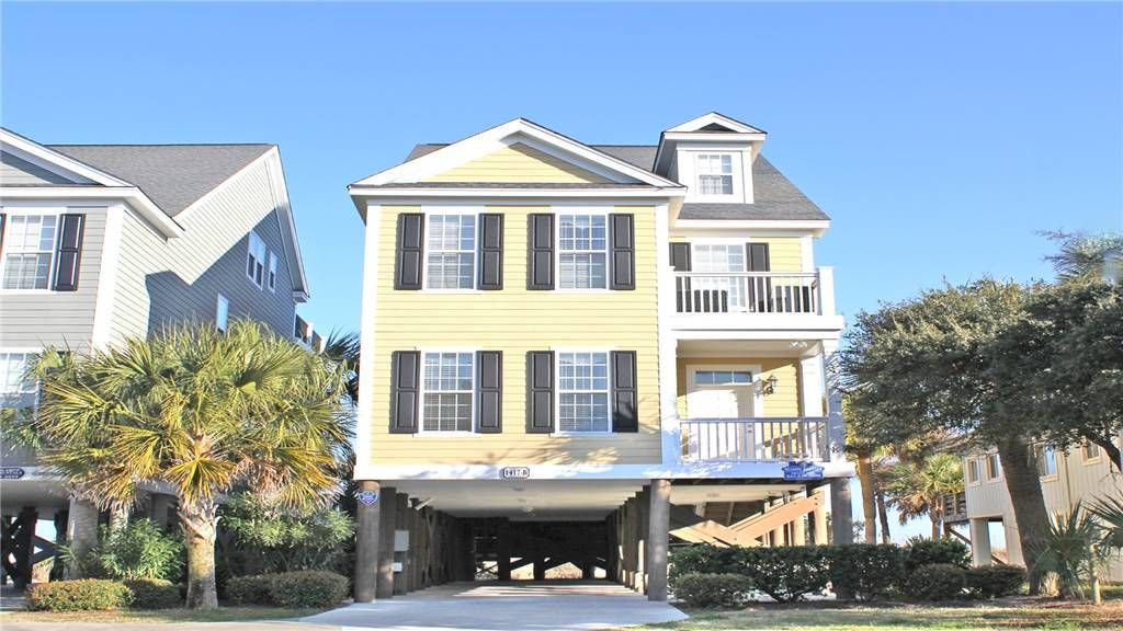 Shore Perfection Oceanfront Vacation Home In Surfside Beach With Private Pool 6 Br Vacation