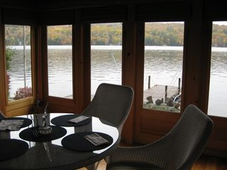 Squam Lake cottage photo - Sun Porch