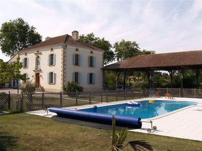 Beautiful Spacious Maison D'Maitre With Large Private Pool In Gasgony