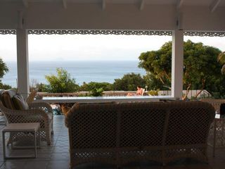 Montserrat villa photo - View of the ocean from the veranda