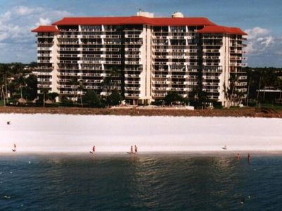Tradewinds condo rental - Tradewinds Building from gulf of Mexico
